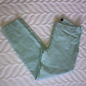 Talbots Chatham sea foam ankle pants